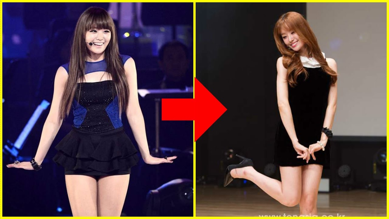 15 Kpop Idols Before and After Weight Loss Success - YouTube