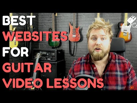 Recommending My Favourite Websites For Video Guitar Lessons - Levi Clay Vlog