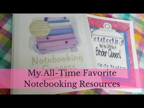 My All-Time Favorite Notebooking Resources