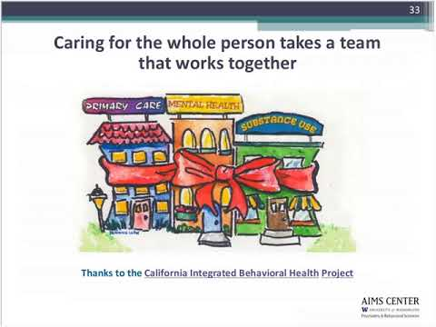 Collaborative Care Model at the AIMS Center By Dr. Unutzer