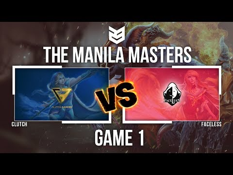 Manila Master | Clutch vs Faceless - Game 1 - Caster: Mimosa