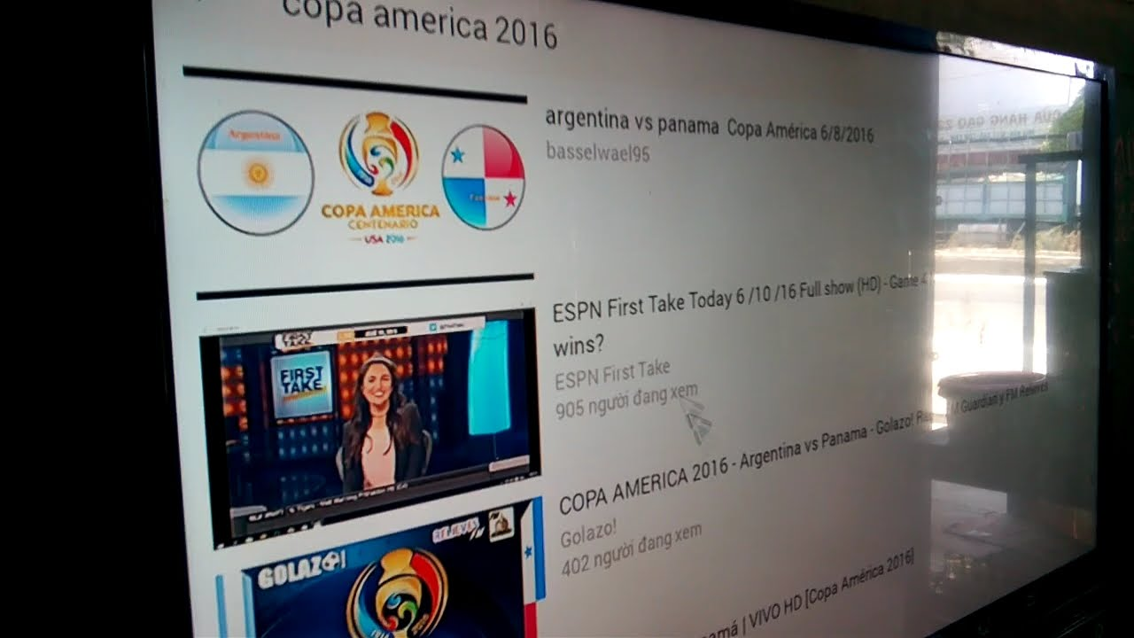 Cách xem trực tiếp bóng đá từ Youtube