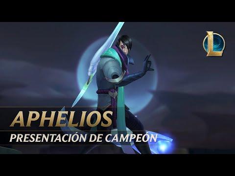 Presentación de campeón de Aphelios  Jugabilidad - League of Legends
