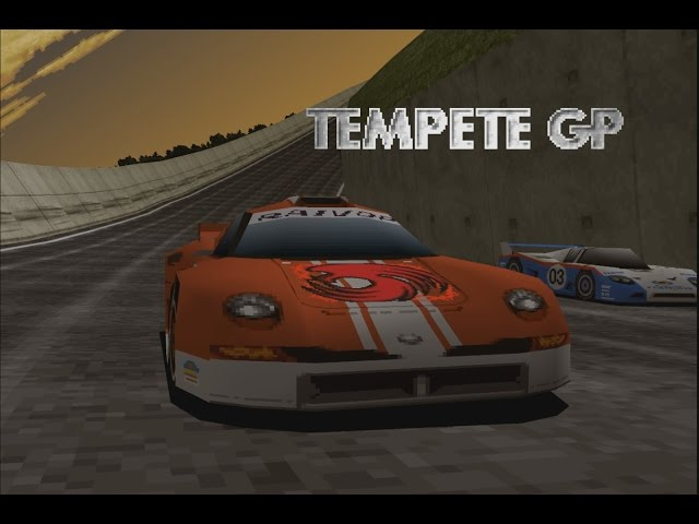 Rage Racer - Class 5 (Tempete GP) playthrough