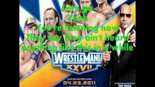 WWE Wrestlemania 27 Theme-Written In The Stars w/lyrics + download link