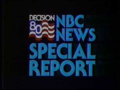 NBC NEWS SPECIAL REPORT ( DECISION 80 ) - YouTube