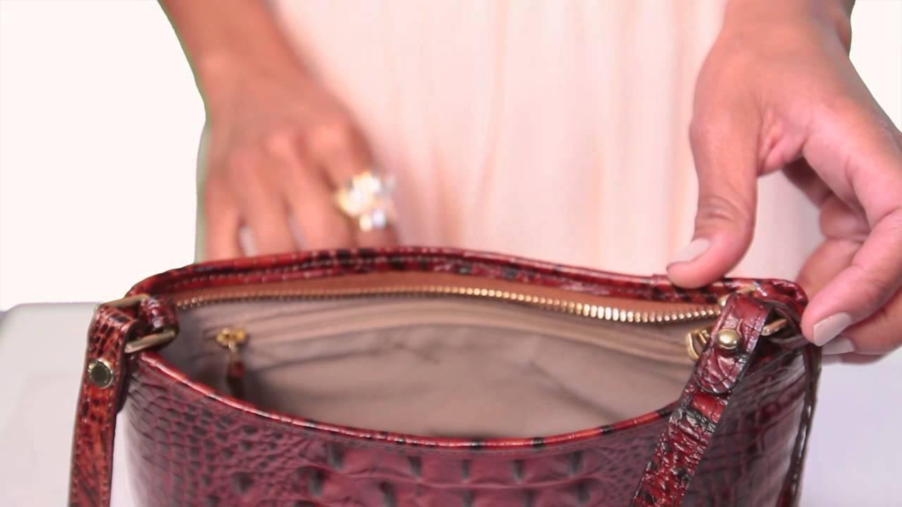 268e59e7349b Brahmin Anytime Mini Bag Video - YouTube