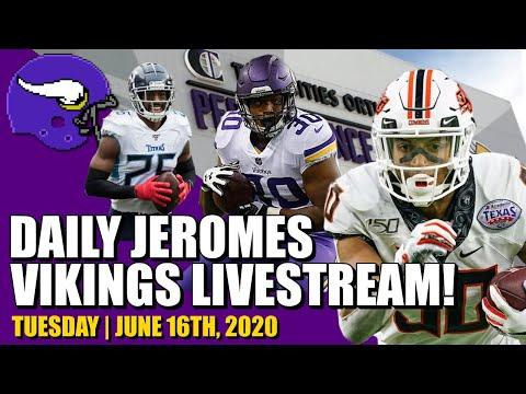 DAILY Minnesota Vikings Jerome Livesteam! | Tuesday, June 16th
