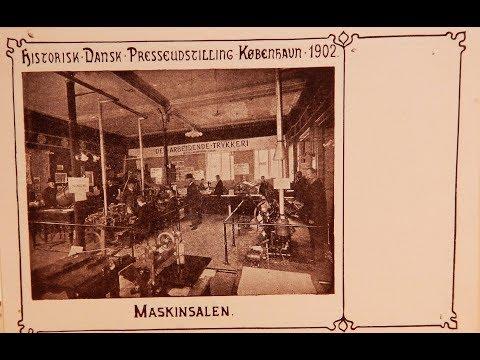 Postkort fra Historisk Dansk Presseudstilling 1902
