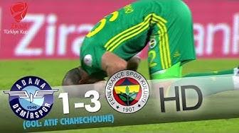 Adana Demirspor: 1 - Fenerbahçe: 3   Gol: Atıf Chahechouhe
