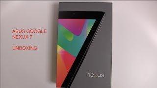 Asus Google Nexus 7 (32GB WiFi+Cellular): Unboxing