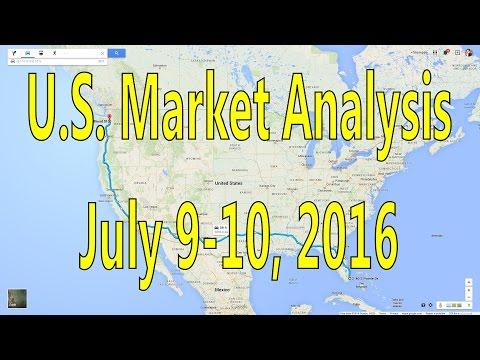 [ Part One ] Weekend U.S. Market Analysis July 09-10, 2016