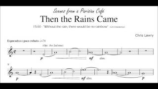 Video Then the Rains Came (Chris Lawry) Bb Clarinet & Piano [from Scenes from a Parisian Cafe] download MP3, 3GP, MP4, WEBM, AVI, FLV Agustus 2018