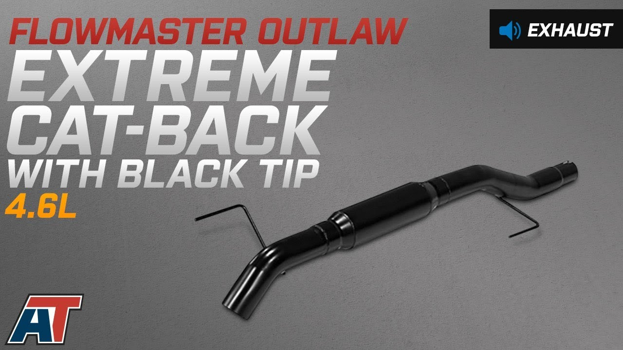 Flowmaster 817707 Outlaw Extreme Kit