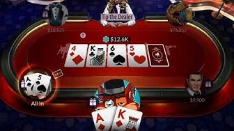 Zynga Poker: Texas Holdem - Gameplay (iOS, Android)