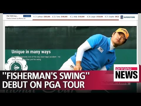 S. Korean golfer Choi Ho-Sung to debut 'fisherman's swing' on PGA Tour Mp3