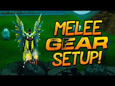 Runescape - My Melee Gear, Weapon + Override Setup!