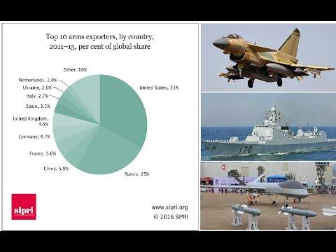 挑戰新聞軍事精華版--瑞典SIPRI報告:中國近5年武器出口增長一倍,躍升世界第三