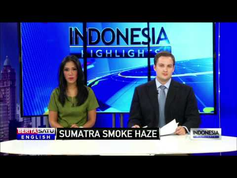 Palembang Residents Choking on Sumatra Haze