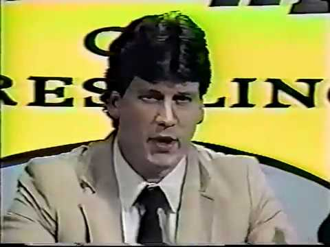 Deep South Wrestling 1988 (maybe 1987)