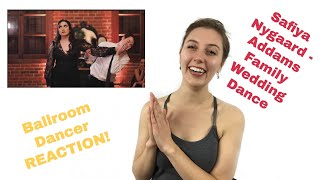 Safiya Nygaard and Tyler's Wedding Dance REACTION | Pro Ballroom Dancer