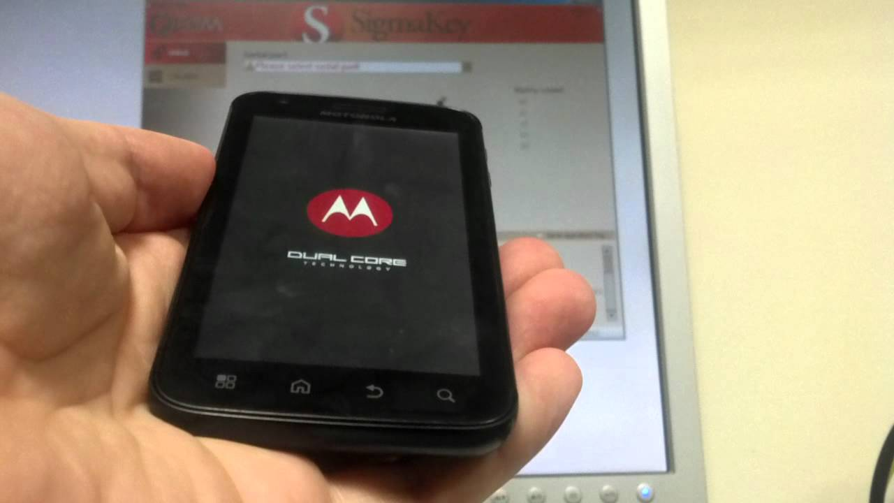 how to unlock motorola atrix mb860 easy and fast youtube rh youtube com Motorola Atrix 4G Motorola Atrix 4G