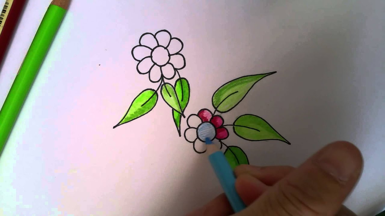 Colored Pencil Blending Technique Using Vaseline 2