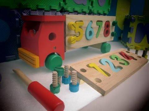 Juegos Didacticos Ludicos En Madera Infantiles Youtube