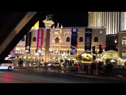 Las Vegas Strip Taxi Ride To The Mirage