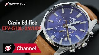 Đánh giá đồng hồ Casio Edifice EFV-510L-2AVUDF 3 TRIỆU mặt xanh