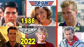 ASÍ ENVEJECIERON los ACTORES de TOP GUN ¡¡¡ están IRRECONOCIBLES !!!