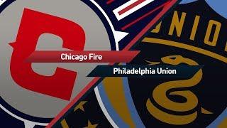 Highlights: chicago fire vs. philadelphia union | october 15, 2017