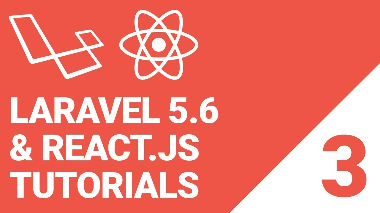 Laravel 5 6 with React js & MySQL Tutorial: Episode 3 | Migration, table  and displaying data -