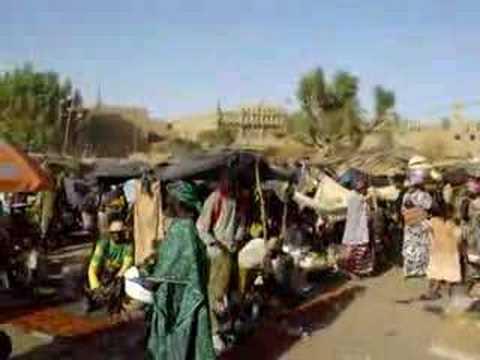 Djenne Market, Mali,  West Africa