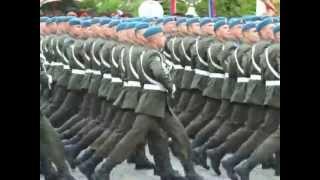 прохождение вдв на параде победы на красной площади
