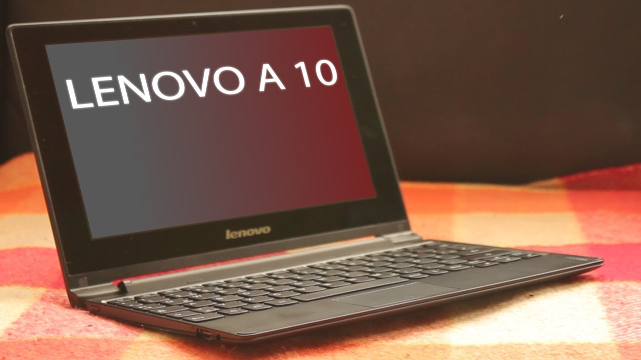 Lenovo Android Notebook IdeaPad A10 – Unboxing & Review // Deutsch / German