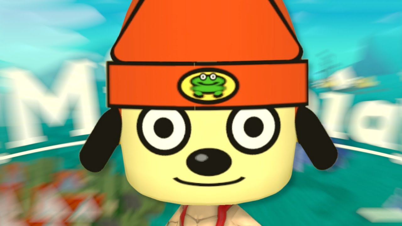 parappa... i haven't heard that name in years...