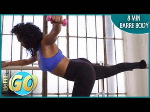 Barre Body Workout Routine: 8 Mins- BeFiT GO
