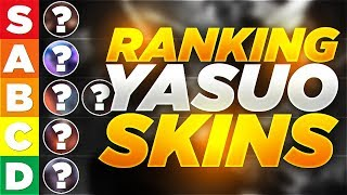 Yassuo | HOW WOULD I RANK YASUO'S SKINS???