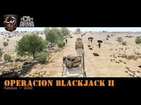 Arma 3 - CAA   Operacion Blackjack 2 - Kundus / USMC