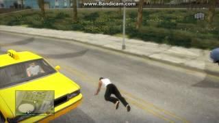 GTA San Andreas anim mod gameplay (working muscle anim)