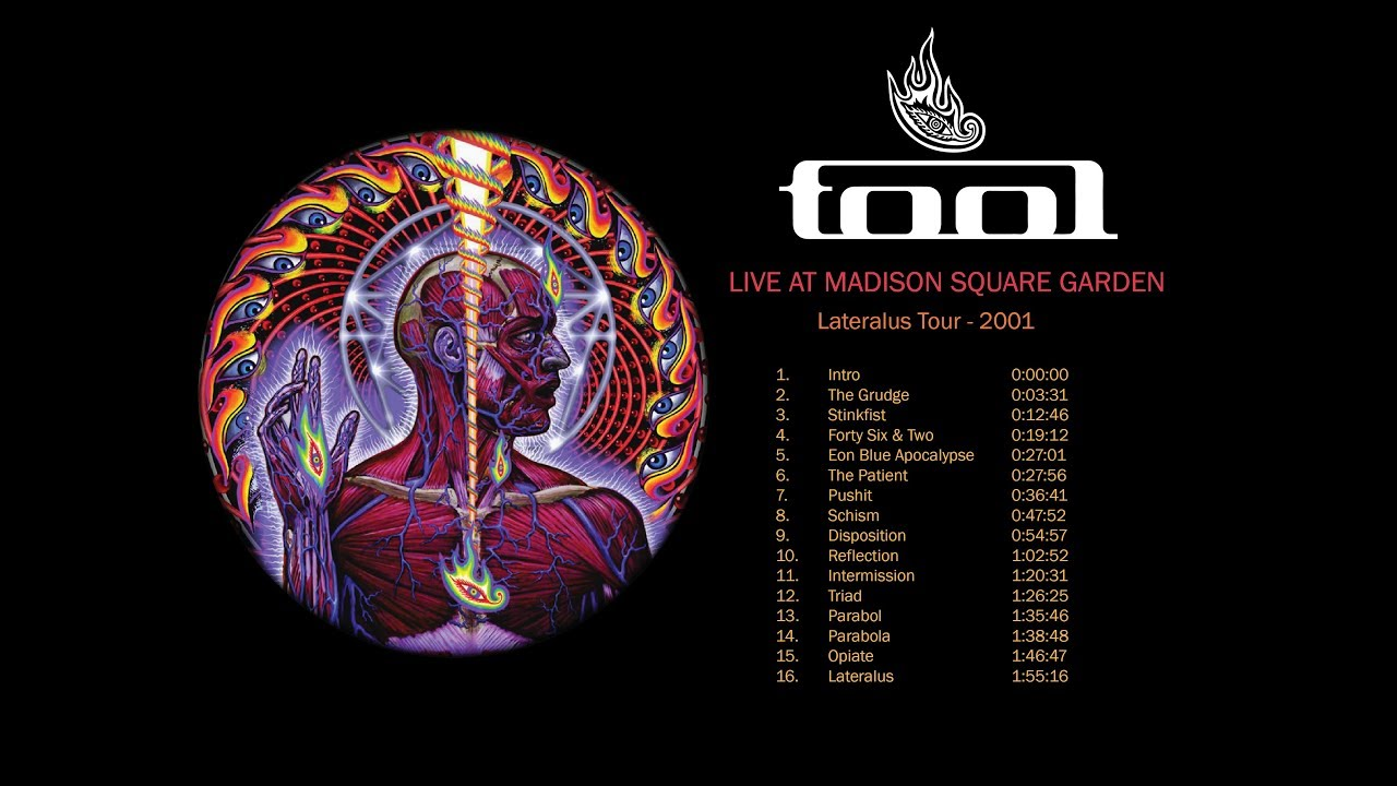 Tool - Live at Madison Square Garden - Lateralus 2001 Tour Bootleg