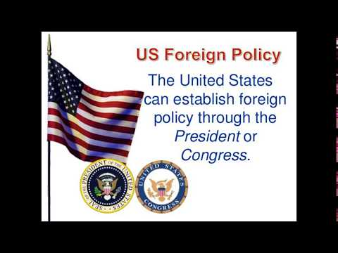 Foreign policy of USA(CSS Regarding)