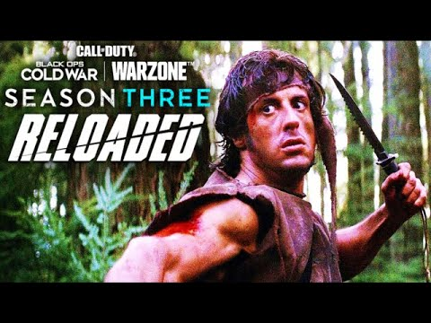 Black Ops Cold War Season 3 Reloaded Trailer - Rambo (Black Ops Cold War Warzone Mid-Season Update)