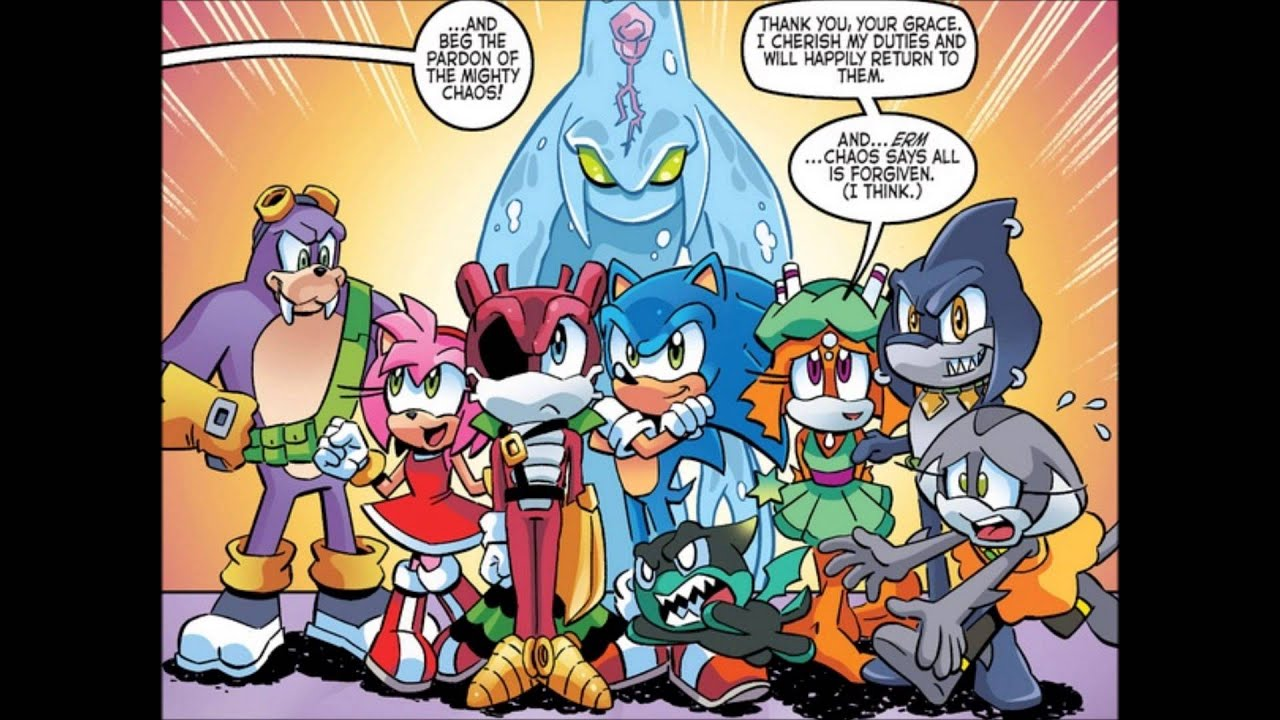 sonic the hedgehog comic issue 263 youtube