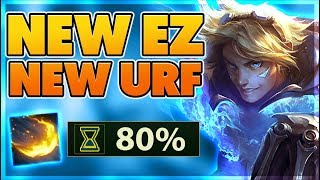 REWORKED EZREAL IN URF!!! (11 KILLS IN FIRST 3 MINS OF THE GAME) - BunnyFuFuu