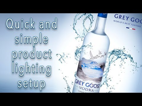 How to photograph a liquor bottle | High end product composite tutorial (Grey Goose)