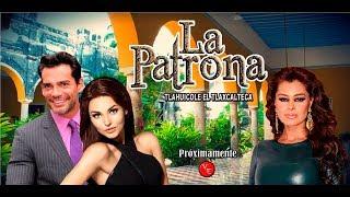 Telenovela La Patrona el remake con Angelique Boyer, Cristian De La Fuente y Yadhira Carrillo 2018