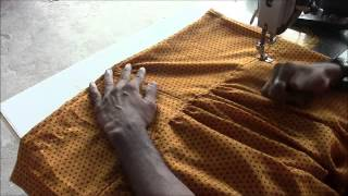 Repeat youtube video Salwaar Kameez Tutorial Part 4 Salwaar Stitching
