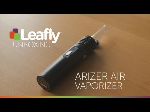Arizer Air Vaporizer – Product Unboxing